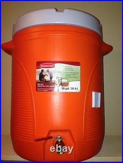 10 gallon mash tun with SS false bottom for homebrew all grain batch. NEW DESIGN