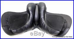 12 Black Leather All Purpose Youth / Child English Saddle Horse Tack