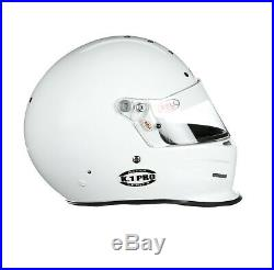 15% OFF Bell K1 PRO WHITE Snell SA2015 All-Purpose Racing, Karting Helmet