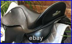16.5 Bates Black AP Saddle New with TagsCare Package Included