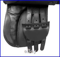16 English Saddle Leather All Purpose Leather Horse Pleasure Trail Set