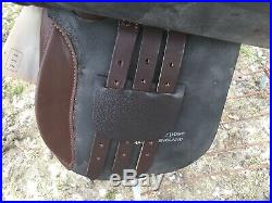 17 Lovatt & Ricketts Devon Havana English AP saddle made in England NWT