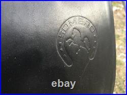 18 Theo Sommer black Somero English AP saddle made in Germany NWOT