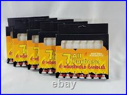 245Pks, 4 White All Purpose Emergency Candles, 245 Candles 35 Pack Of 7