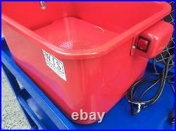 3.5 Gallons Portable All-Purpose Parts Cleaner Washer Removal Grease Grime Oil