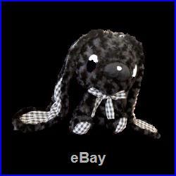 ALL PURPOSE BUNNY Teddy Type-Mono Check Black Gloomy Bear Rabbit Plush Doll