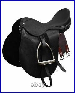 All-Purpose English Saddle Stirrups Leathers Girth 14 15 16 17 18 NEW