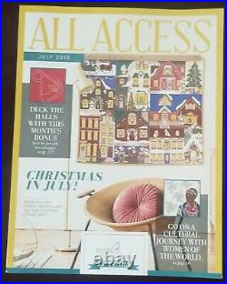 Anita Goodesign ALL ACCESS VIP Club JULY 2019 Embroidery Design CD & BOOK