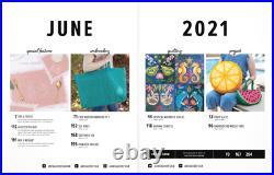 Anita Goodesign ALL ACCESS VIP Club JUNE 2021 Embroidery Design CD AND PDF BOOK