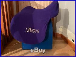 Bates All Purpose + (Opulence) Saddle Black, 17.0