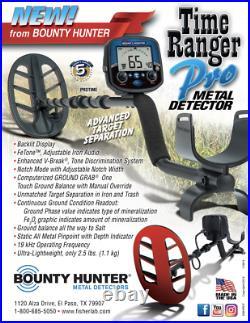 Bounty Hunter Time Ranger Pro 19kHz Sensitive To Gold All-Purpose Metal Detector