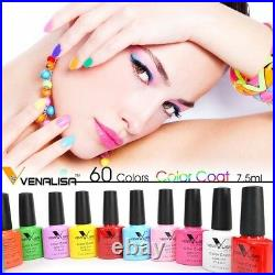 CANNI Venalisa Nail Gel Art Design Manicure 7.5Ml Soak Off Enamel Polish LED UV