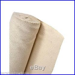 Canvas Bulk Roll, 100% Cotton 6 oz 60 Wide x 50 Yards Artists & All Purpose