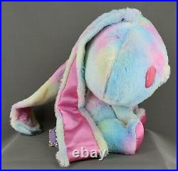Chax-GP Gloomy All Purpose Rabbit Bunny Plush #541 Fantasy Fur Pink 11.5 tags