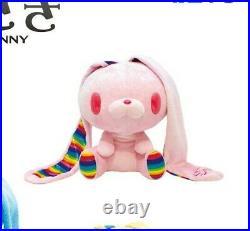 Chax GP Gloomy Bear All Purpose Rabbit Bunny Plush #536 Rainbow Pink 11 Taito