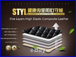 Classic Diamond Design Black PU Leather Car Full Seat Surrounded Cover Cushions