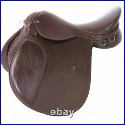 Close Contact Saddle 16 17 18 Brown All Purpose English Leather Horse Tack