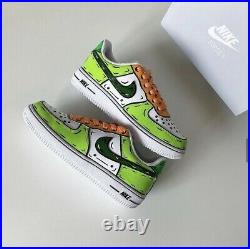 Custom Nike Air Force I Hand Painted Made to Order Cartoon Design All Sizes