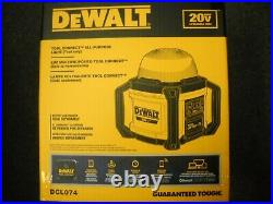 DEWALT DCL074 20V All-Purpose Cordless Work Light Tool Connect New
