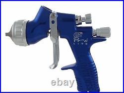 DeVilbiss GTi ProLite BLUE TE20 All Round Lacquer/Gloss Spray Gun 1.3/1.4mm Tip