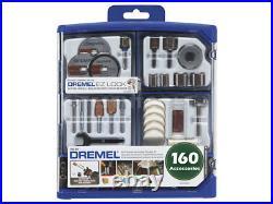 Dremel All Purpose Accessory Kit 160Pcs 710-RW