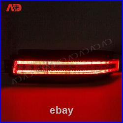For 2003-2009 Nissan Z33 350Z LED Brake Light Turn Signal Backup Lamp Clear Lens