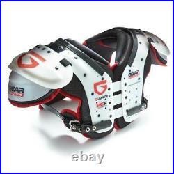 Gear ProTec Adult Gamer Football Shoulder Pads All Purpose Pads Varsity