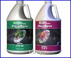General Hydroponics FloraNova Flora Nova Grow Bloom Base Nutrient 1 Gallon