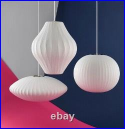 George Nelson inspired Pendant Light. Bubble Design. ALL SHAPES AVAILABLE