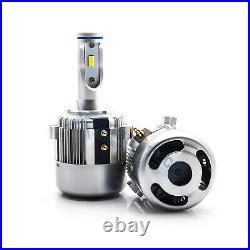 H7 Holder Adapter Bulbs LED Headlight Kit for Volkswagen VW Golf GTi Passat MK7