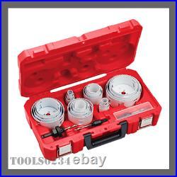 Hole Saw Kit HOLE DOZER All Purpose Professional 28 Pc Milwaukee 49-22-4185