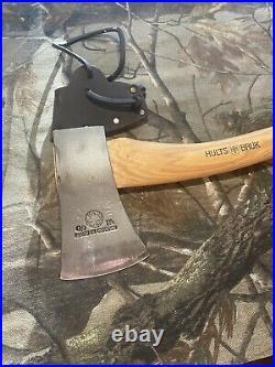 Hults Bruk Tarnaby All Purpose Hatchet Axe Sweden Made + Leather Sheath