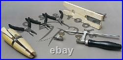 Jewelry Making Tools Kit Hand Tools For Design & Repair Bench Pin 3 Pliers 1 Saw