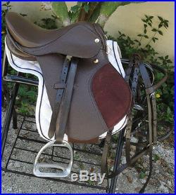 MIniature Horse Miniature Donkey or Mule 12 English Saddle Package