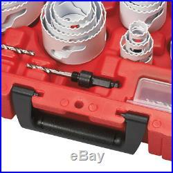 Milwaukee 49-22-4185 All Purpose Professional Hole Dozer Hole Saw Kit 28pc