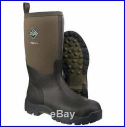 Muck Boots Mens Derwent II Moss Green DWT-333T Waterproof Boots