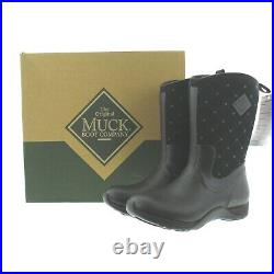 Muck Women's Arctic Weekend All Purpose Winter Boots AWQ-000 Black Quilt