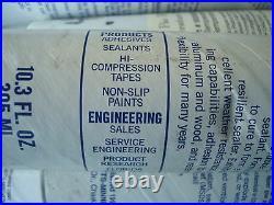 NEW Contractor LOT 50+ Manus-Bond All-Purpose Rubber Sealant Black #- 30-A RV