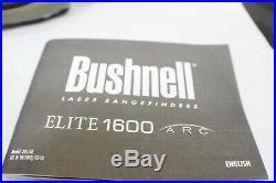 NEW! Military Issued Bushnell 205110 Elite 1600 ARC 7 x 26 mm Laser Rangefinder