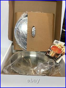 NIBAll Clad d5 Stainless-Steel 4 QT Pan-ship free