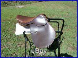 NOS LOVATT & RICKETTS Olympic All purpose saddle 16.5 MED. Spring Tree