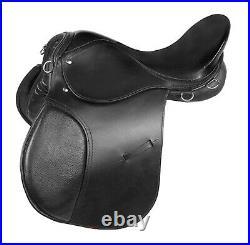 New DD Leather English All Purpose Saddle Set