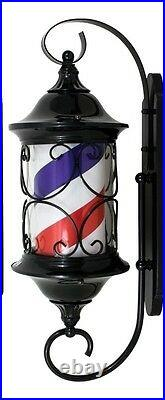 New Design Barber Pole- All Metal Frame-outdoor 30 New