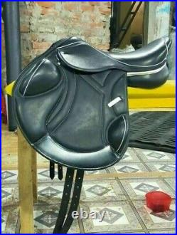 New English Close Contact Leather Saddle Size 141516 17'17.5' 181920 21