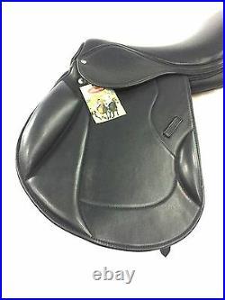 New International Quality Softy Padded Leather English All Purpose Saddle