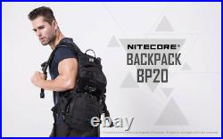 Nitecore BP20 Multi-Purpose All-Weather MOLLE Compatible Padded Nylon Backpack
