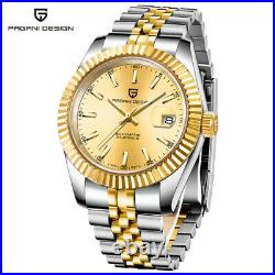 PAGANI Men's 1645 Luxury Automatic Watch All Steel Waterproof Business Style
