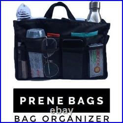 PRENE BAG. The'Brighton' (Black) PLUS. Internal Orgsnizer
