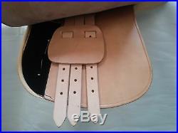 Polo & Universal Saddle with Adjustable Knee Pads