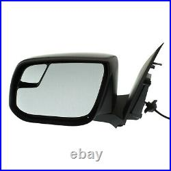 Power Mirror For 2017-2018 Chevrolet Colorado Left Side Manual Fold Paintable